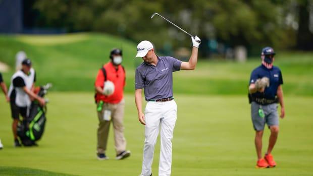 Justin Thomas at 2020 US Open