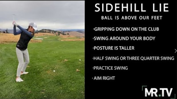 How to handle shots with the ball above your feet