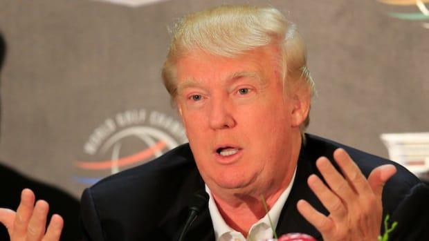 Donald Trump at 2014 WGC Cadillac Championship at Doral