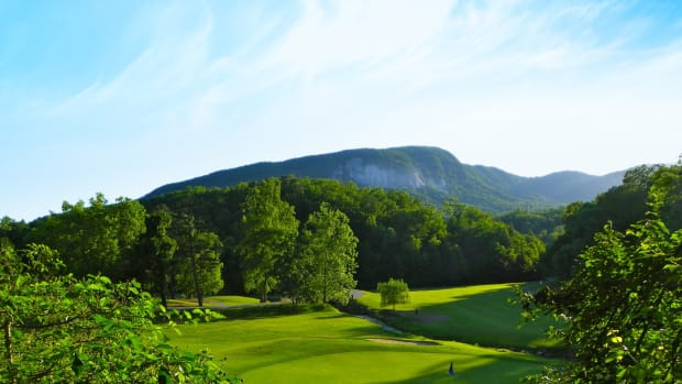 Bald Mountain — Hole No. 17