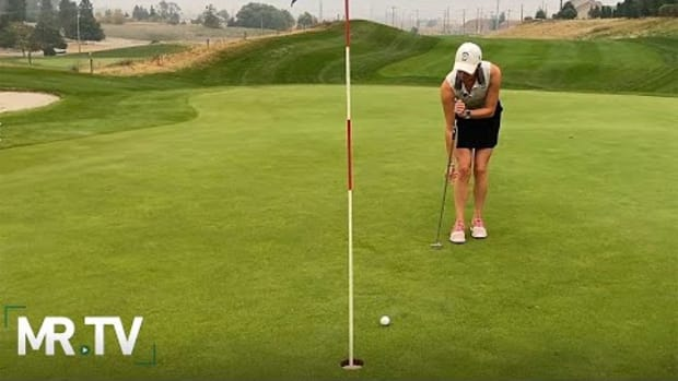 How to putt side-saddle: An introduction to the unique (and legal!) putting stroke
