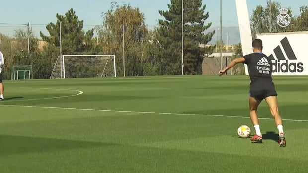 Toni Kroos in another session at Real Madrid City