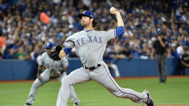Texas Rangers / Toronto Blue Jays / Cole Hamels