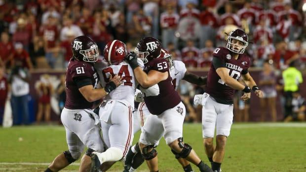 Zack Calzada Passes Versus Alabama