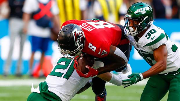 Kyle Pitts Atlanta Falcons vs. New York Jets