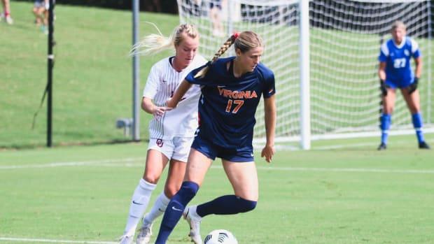 Haley Hopkins Virginia Cavaliers women's soccer