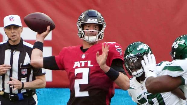 Matt Ryan vs Jets