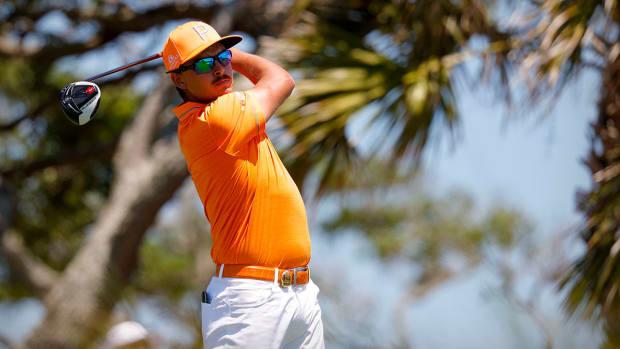 Rickie Fowler was T8 at the 2021 PGA Championship.