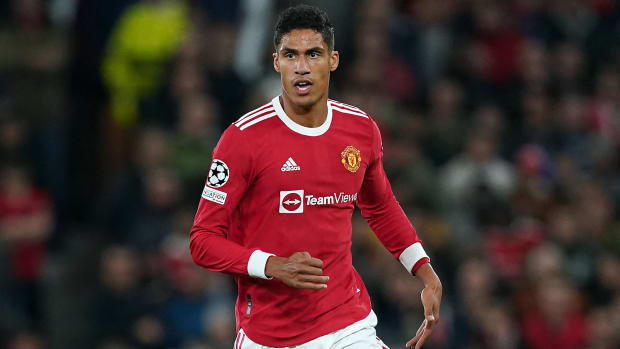 Raphael Varane is out with an injured groin