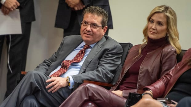 Daniel Snyder and his wife, Tanya.