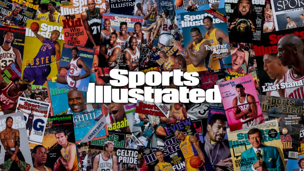 SI's Most Iconic NBA Covers(SITE)