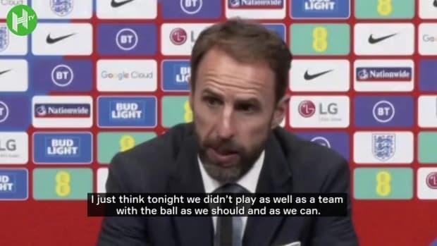Southgate explains decision to substitute England captain Kane