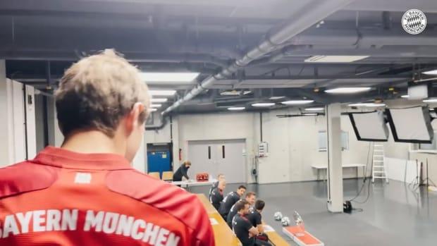 Behind the scenes: Bayern's team photo