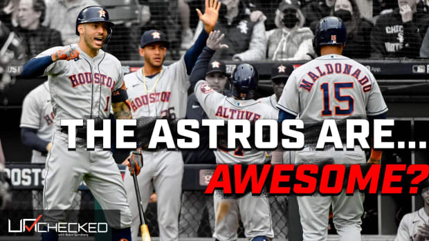 Astros thumb