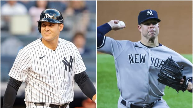 Yankees Anthony Rizzo, Corey Kluber