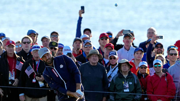 Dustin Johnson was 5-0 in the 2021 Ryder Cup at Whistling Straits.