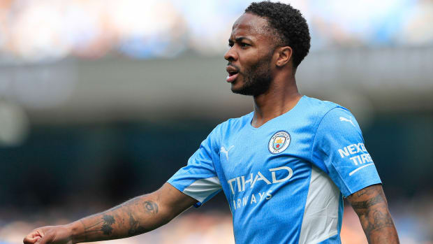 Raheem Sterling is open to leaving Man City