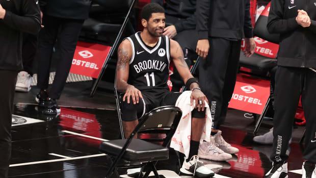 Brooklyn Nets guard Kyrie Irving