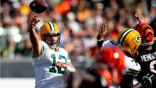 aaron Rodgers 2 Albert Cesare  The Enquirer  USA TODAY NETWORK