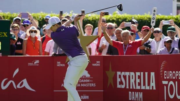 Matt Fitzpatrick won the Andalucía Masters by three shots Sunday in Spain.