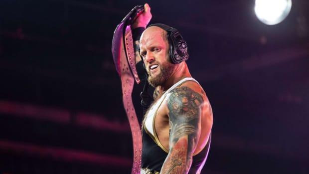 Closeup of Impact Wrestling's Josh Alexander