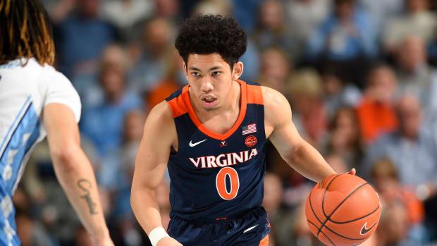 Kihei Clark Virginia Cavaliers men's basketball