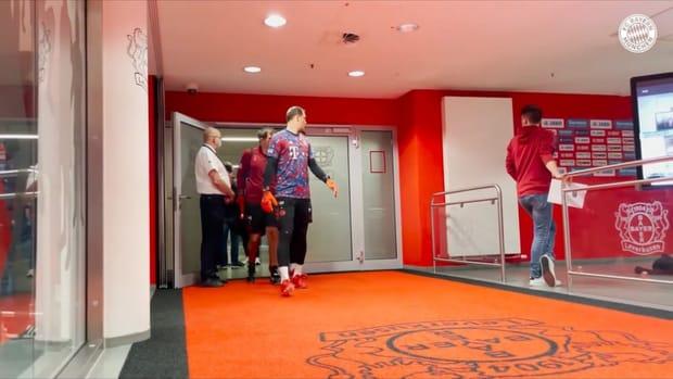 Behind the scenes: Bayern's 5-1 victory over Leverkusen