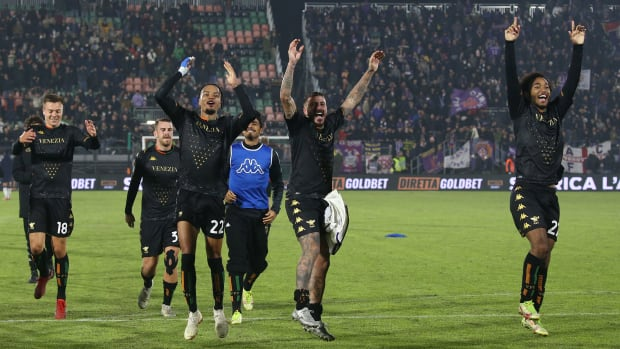 Venezia beats Fiorentina in Serie A
