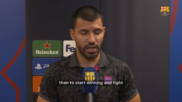 Sergio Aguero: 'We've got great players'