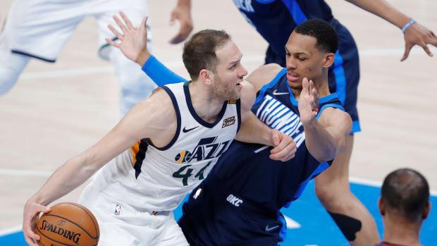 Darius Bazley, OKC Thunder, Utah Jazz