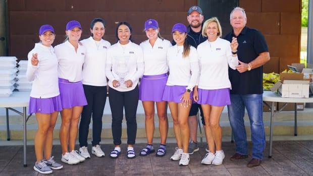 TCU Women's Golf Team at the Jim West Challenge