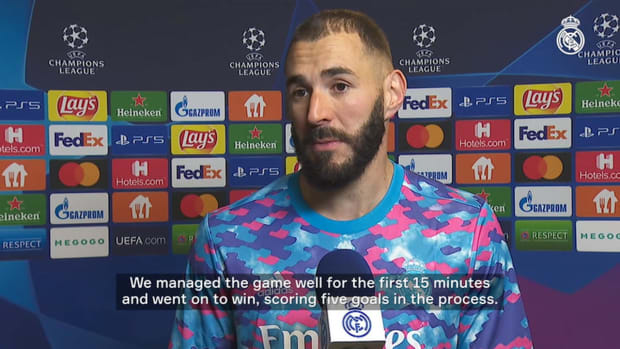 Karim Benzema: 'I hope I can keep this form up and help my team out on the pitch'