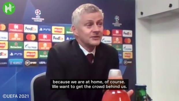 Ole Gunnar Solskjaer praises Cristiano Ronaldo work ethic