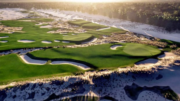 A rendering of the Lido Golf Course.