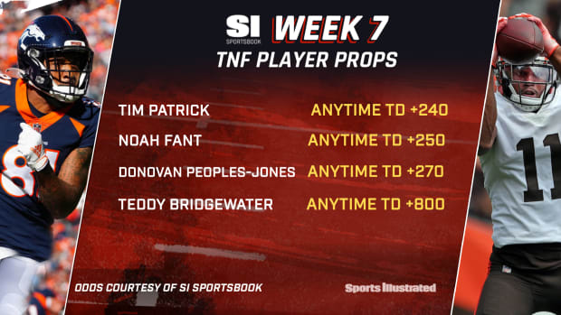 Week 7 TNF Player Props-SOCIAL