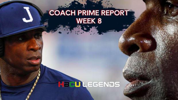 Coach Prime Report - Week 8