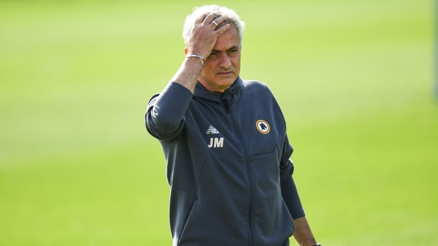 Roma manager Jose Mourinho