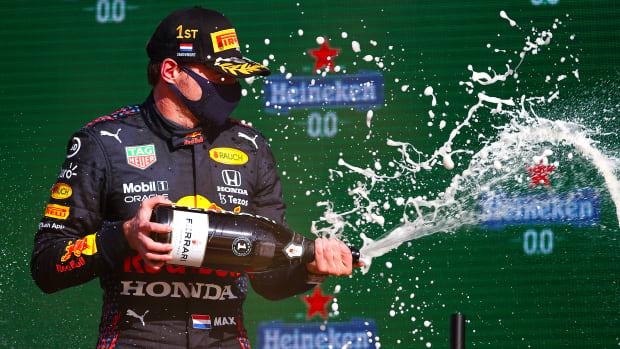 Formula One driver Max Verstappen