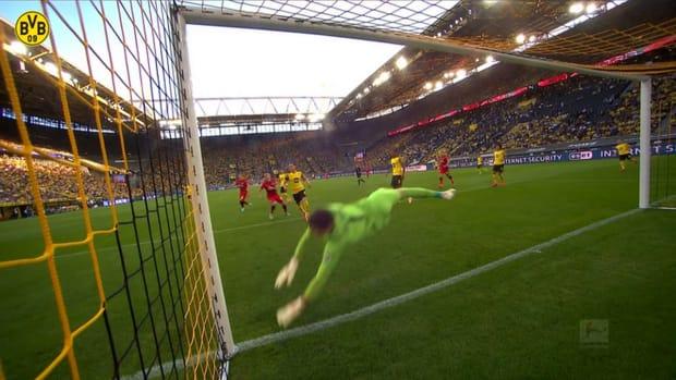 Kobel's best Dortmund saves