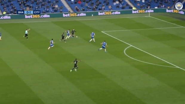 Phil Foden's incredible solo goal vs Brighton