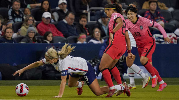 USWNT and South Korea play to a draw