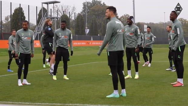 Marcus Thuram returns to Gladbach's team training