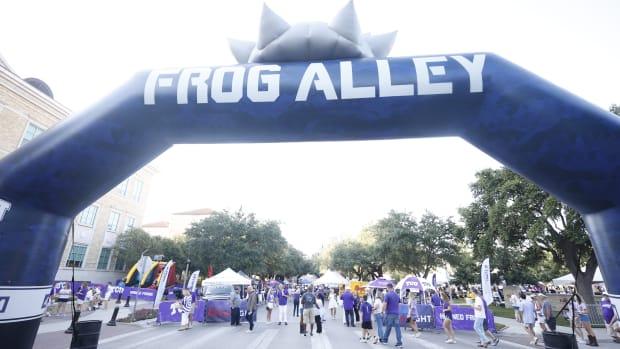 Frog Alley pregame before a TCU football game