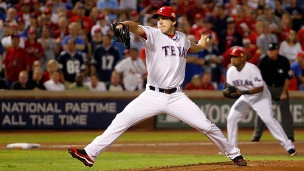 Derek Holland / 2011 World Series
