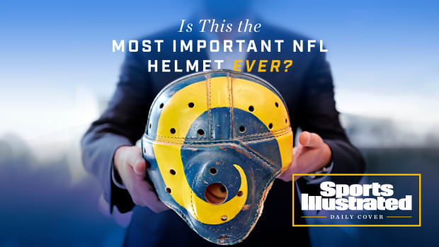 SI Daily Cover on the Rams Helmet Controversy