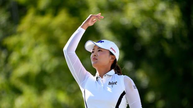 Jin Young Ko wins the 2019 CP Women's Open.