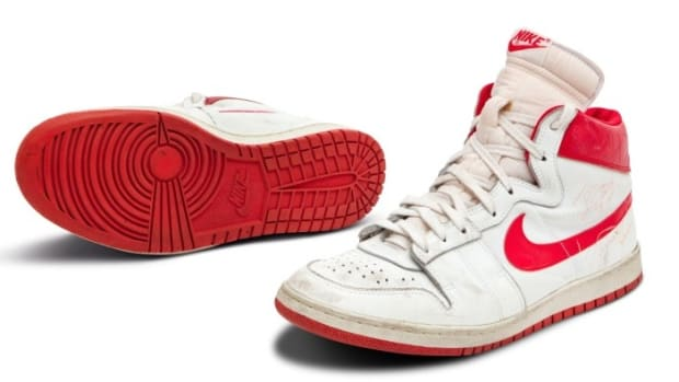 Jordan Nike Air Ships sold for almost $1.5 million at a Sotheby's auction