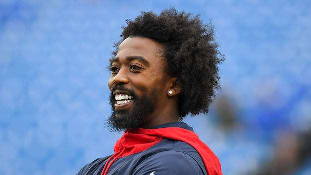 Tyrod Taylor with the Texans.