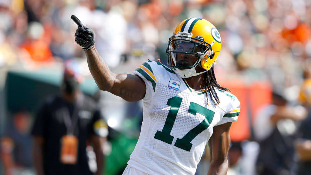 Davante Adams with the Packers.