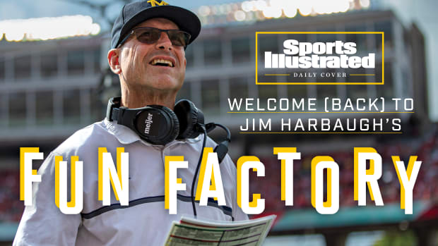 Welcome (Back) to Jim Harbaugh's Fun Factory